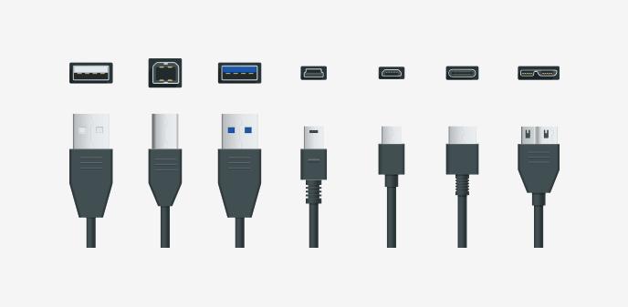 USBコネクタの種類