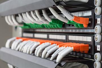 通信網の写真│電気通信工事の作業内容は大きく分けて3種類