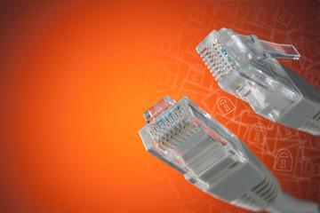"""モジュラーケーブルとLANケーブルの違いとは?モジュラーケーブルとは、""""モジュラージャック""""と呼ばれる電話端子(コネクター)の付いたケーブルのこと"""