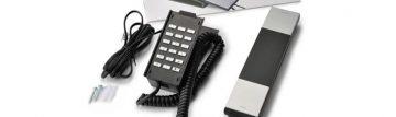 受付おしゃれ電話用の電話機とビジネスフォンの違いは?
